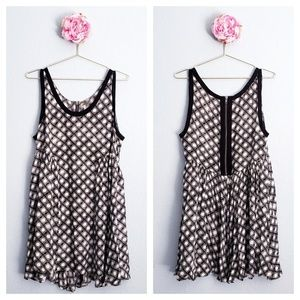 Free People Molly's Dot Swing Dress